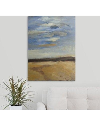 """Great Big Canvas 'Cloudscape' by Bradford Brenner Painting Print 2441833 Size: 60"""" H x 44"""" W x 1.5"""" D Format: Canvas"""