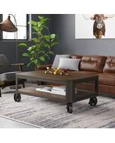 Amazing Deal On Emerico Lift Top Wheel Coffee Table With Storage 17 Stories