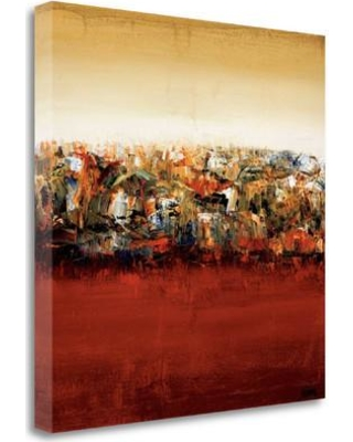 "Tangletown Fine Art 'Red Lake' Print on Wrapped Canvas CA304047-2020c Size: 20"" H x 20"" W"