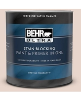 Shopping Special For Behr Ultra 1 Qt S190 7 Toasted Pecan Satin Enamel Exterior Paint And Primer In One
