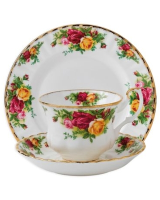 Royal Albert Old Country Roses 3-Piece Place Setting Multi