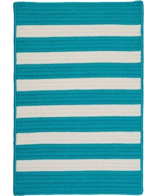 Viv + Rae Georg Turquoise Indoor/Outdoor Area Rug VVRE3705 Rug Size: Rectangle 5' x 8'
