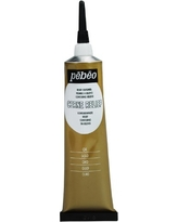 Pebeo Vitrail, Cerne Relief Dimensional Paint, 37 ml Tube with Nozzle - Gold
