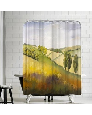East Urban Home Hans Paus Cotswolds Single Shower Curtain EBIB8674