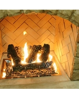 The Outdoor GreatRoom Company Log Set And Grate for Outdoor Fireplace CF-1224 LOG SET