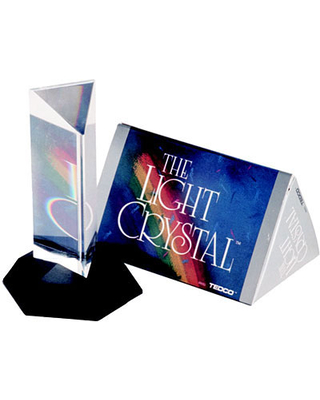 Light Crystal Prism - 4.5 inches - Office & Desk Toys for Ages 7 to 11 - Fat Brain Toys