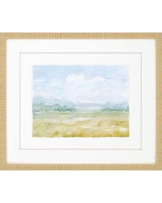 Highland Dunes 'Watercolor II' Framed Painting W000503939