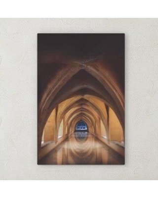 "Ebern Designs 'All Reflections' Photographic Print on Wrapped Canvas BF072096 Size: 40"" H x 20"" W x 2"" D"
