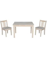 Peachy Harriet Bee Edgewood Kids 3 Piece Rectangular Activity Table And Chair Set W001327320 Finish Cream Gmtry Best Dining Table And Chair Ideas Images Gmtryco