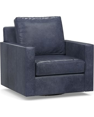 Heres A Great Deal On Cameron Square Arm Leather Swivel Armchair