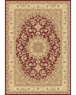 "Atterbury Duncaster Oriental Red Area Rug Astoria Grand Rug Size: Rectangle 7'10"" x 10'10"""