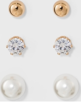 Stud Earring Set 3ct - A New Day, Multi-Colored