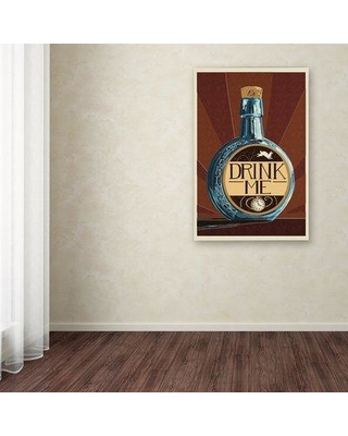 """Latitude Run 'Food and Drink 30' Graphic Art Print on Wrapped Canvas LRUN3275 Size: 32"""" H x 22"""" W x 2"""" D"""