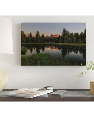 "East Urban Home 'Morning Glory' By Bill Sherrell Graphic Art Print on Wrapped Canvas EUME7120 Size: 12"" H x 18"" W x 0.75"" D"