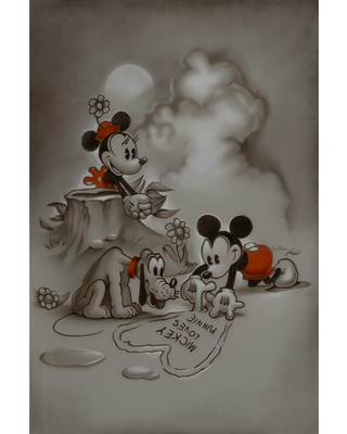 Mickey and Minnie Mouse ''Mickey Loves Minnie'' Gicle by Noah Official shopDisney