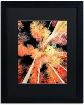 """Trademark Art 'Words Don't Come So Easily' by Philippe Sainte-Laudy Framed Graphic Art PSL0939-B1 Mat Color: Black Size: 20"""" H x 16"""" W x 0.5"""" D"""