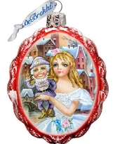The Holiday Aisle Nutcracker Glass Ornament THLY6674