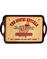 MotorHead Products Busted Knuckle Garage Serving Tray MH-1063