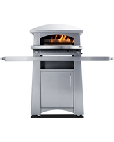 Kalamazoo Freestanding Artisan Fire Pizza Oven with Pizza Tools, Bulk Liquid Propane