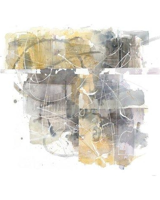 """East Urban Home 'Moving in and out of Traffic II' Graphic Art Print on Wrapped Canvas ERNI3101 Size: 37"""" H x 37"""" W x 1.5"""" D"""