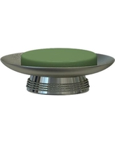 Charlton Home Hutto Soap Dish CHRH4485 Color: Pewter
