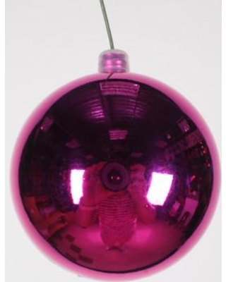 Queens of Christmas Ball Ornament (Set of 12) WL-ORN-BLKS Size: 70 mm Color: Pink
