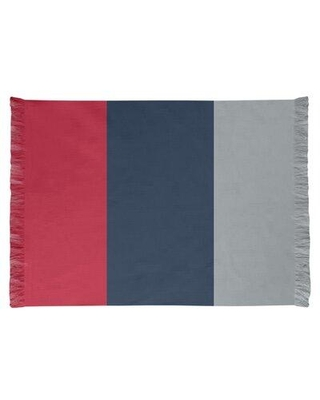 East Urban Home Tennessee Red Football Red/Dark Blue Area Rug FCJK0567 Backing: Yes