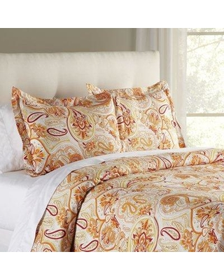 Charlton Home Suzanne Duvet Cover W001205491 Size: Queen