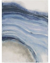 """Wrought Studio 'Watercolor Geode IV' Acrylic Painting Print on Wrapped Canvas WRSD2078 Size: 24"""" H x 18"""" W x 2"""" D"""
