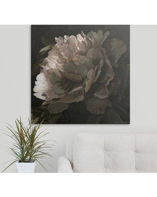 """Great Big Canvas 'Moonlit Peony II' Megan Meagher Painting Print 2432714_1_ Size: 35"""" H x 35"""" W x 1.5"""" D Format: Canvas"""