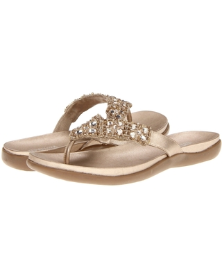 Kenneth Cole Reaction Glam-athon (Champagne) Women's Sandals