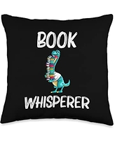 Best Read Novel Bookstore & Bookshop Library Arts Funny Reading Books Gift For Men Women Bookworm Story Reader Throw Pillow, 16x16, Multicolor