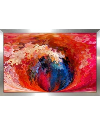 """PicturePerfectInternational 'Eternal Life. John 3:16' Painting Print on Canvas 704-0506 Size: 21.5"""" H x 27.5"""" W Format: Framed"""