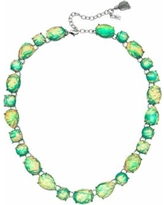 Simply Vera Vera Wang Green Simulated Crystal Collar Statement Necklace, Women's