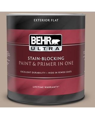 Discover Deals On Behr Ultra 1 Qt Bxc 43 Desert Sandstorm Flat Exterior Paint And Primer In One