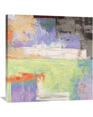 """Global Gallery 'The Island II' by Alessio Aprile Painting Print on Wrapped Canvas GCS-453747 Size: 36"""" H x 36"""" W x 1.5"""" D"""