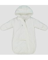 Baby Girls' Pram Snowsuit - Just One You made by carter's Ivory One Size
