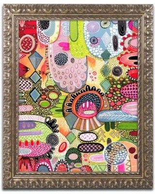 """East Urban Home 'Fly with Me' Framed Graphic Art ETRB1359 Size: 20"""" H x 16"""" W x 0.5"""" D"""