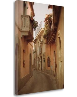 """Tangletown Fine Art 'Forza DArgo Alleyway II' Graphic Art Print on Wrapped Canvas CAJHP123-1824c Size: 24"""" H x 18"""" W"""