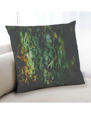 Plants Leaves 5 Throw Pillow Floral Throw Pillow