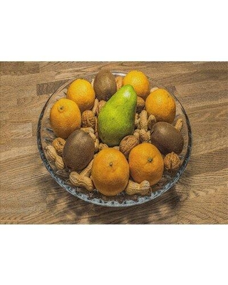 East Urban Home Fruit Bowl Yellow Area Rug W000398318 Rug Size: Rectangle 2' x 3'