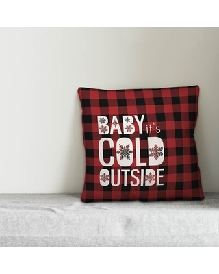 Lecroy Baby It's Cold Outside Throw Pillow