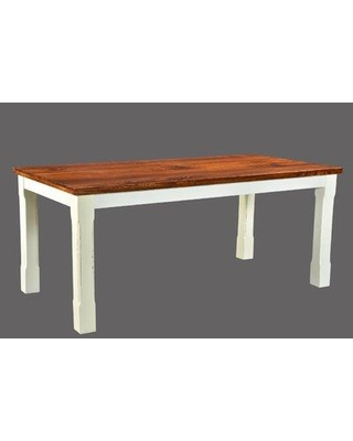 "August Grove Lesley Dining Table AGRV4362 Size: 30"" H x 36"" W x 60"" D"