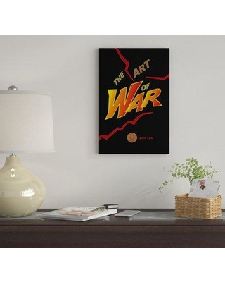 """East Urban Home 'The Art Of War By Robert Wallman' By Creative Action Network Graphic Art Print on Wrapped Canvas FVNF4466 Size: 26"""" H x 18"""" W x 0.75"""" D"""