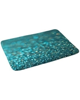 East Urban Home Non-Slip Floral Bath Rug FBVV6489 Color: Turquoise