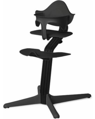 Nomi Highchair - Black/Black Oak