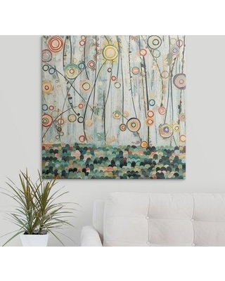"""Great Big Canvas 'Blooming Meadows' Candra Boggs Graphic Art Print 1057077_1 Size: 30"""" H x 30"""" W x 1.5"""" D Format: Canvas"""