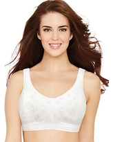 8a74ccc3d9500 Bali Comfort Revolution ComfortFlex Fit Shaping Wirefree Bra White Dot 3XL