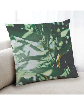 Plants Leaves 84 Throw Pillow Floral Throw Pillow