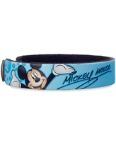 Mickey Mouse Signature Leather Bracelet Personalizable Official shopDisney